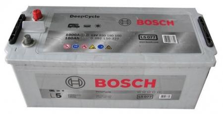 Аккумуляторная батарея Bosch L5, 12 В, 180 А/ч, 1000 А, 0092L50770