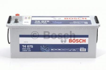 Аккумуляторная батарея Bosch T4, 12 В, 140 А/ч, 800 А, 0092T40750