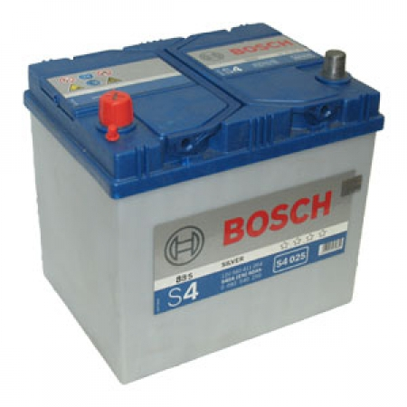 Аккумуляторная батарея Bosch S4 Silver, 12 В, 60 А/ч, 540 А, 0092S40250