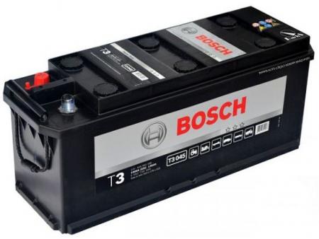 Аккумуляторная батарея Bosch T3, 12 В, 135 А/ч, 1000 А, 0092T30450