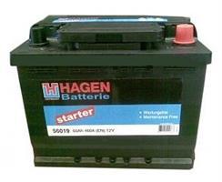 АКБ HAGEN 12V 60Ah 500A 246x175x190 /-+/ (Длина x Ширина x Высота)