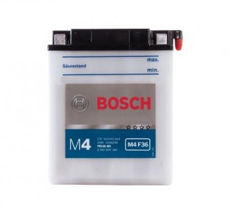 Аккумуляторная батарея Bosch Funstart FreshPack, 12 В, 14 А/ч, 140 А, 0092M4F360