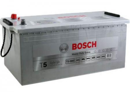 Аккумуляторная батарея Bosch T5, 12 В, 225 А/ч, 1150 А, 0092T50800