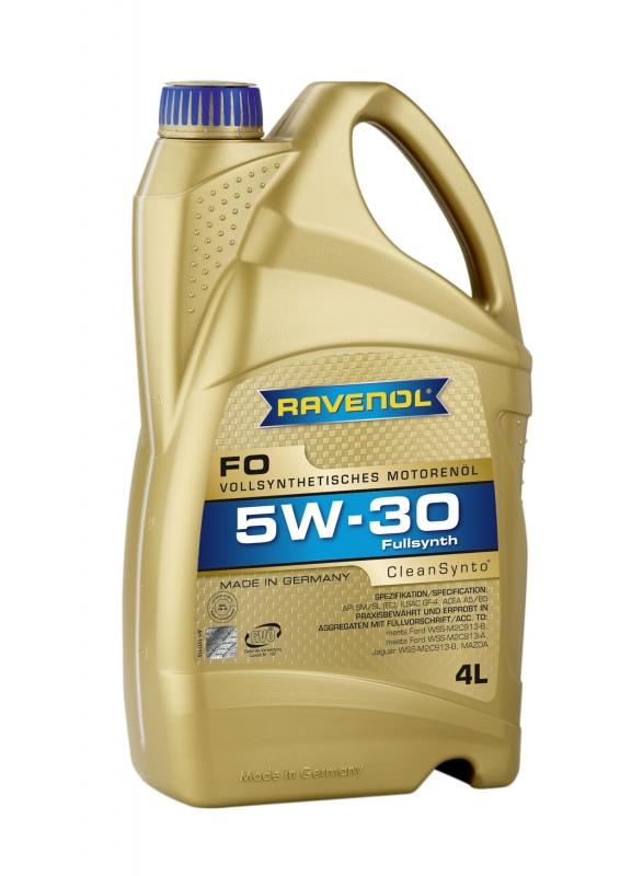 Моторное масло RAVENOL FO, 5W-30, 4л, 4014835722699