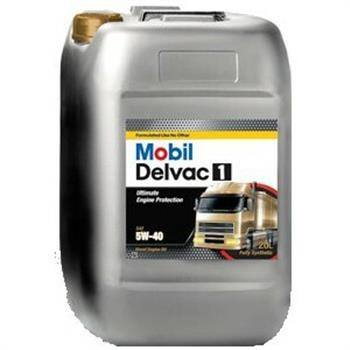 Моторное масло Mobil Delvac 1, 5W-40, 20л