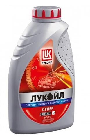 Моторное масло LUKOIL Супер, 10W-40, 1л, 19191