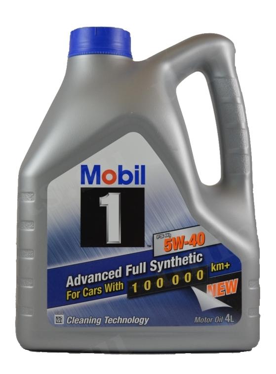 Моторное масло Mobil 1 FS x1, 5W-40, 4л