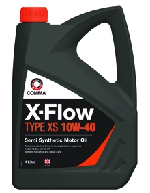Моторное масло COMMA 10W40 X-FLOW TYPE XS, 4л, XFXS4L