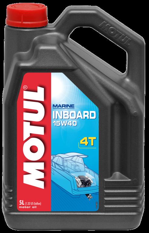 Масло моторное MOTUL Inboard 4T, 15W-40, 5л, 101738