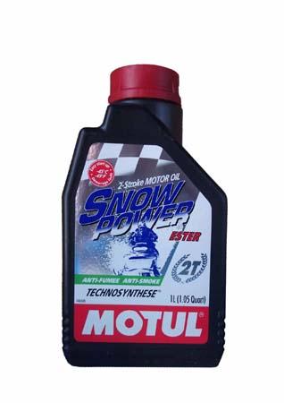 Моторное масло MOTUL Snowpower 2T, 1 л, 101020