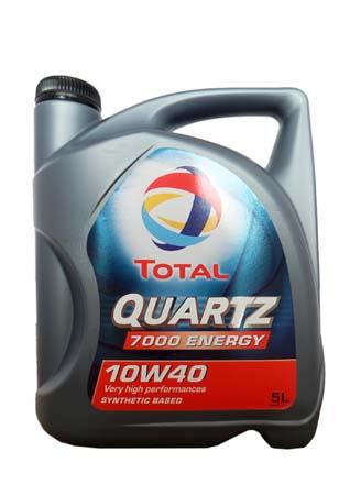 Моторное масло TOTAL QUARTZ 7000 ENERGY, 10W-40, 5л, 169153