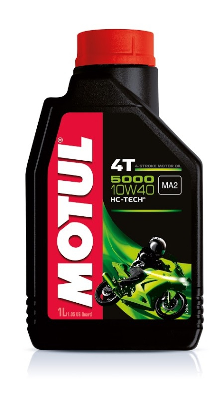 Моторное масло MOTUL 5000 HC-Tech 4T, 10W-40, 1 л, 104054