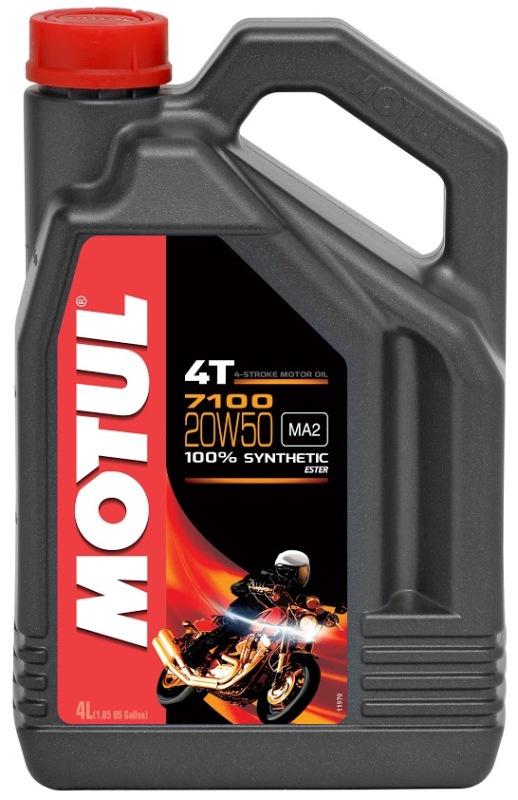 Моторное масло MOTUL 7100 4T, 20W-50, 4 л, 104104