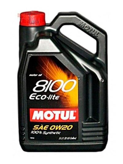 Моторное масло MOTUL 8100 Eco-lite, 0W-20, 5 л, 104983