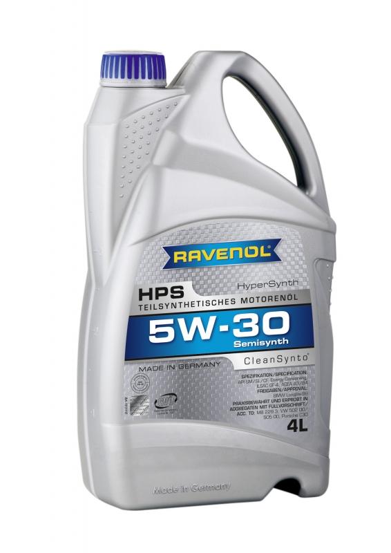 Моторное масло RAVENOL HPS, 5W-30, 4л, 4014835722897