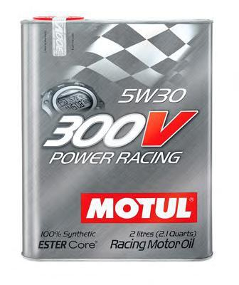 Моторное масло MOTUL 300V Power Racing, 5W-30, 2 л, 104241