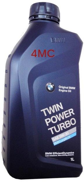 Моторное масло BMW Twin Power Turbo, 5W-30, 1л, 83 21 2 365 933