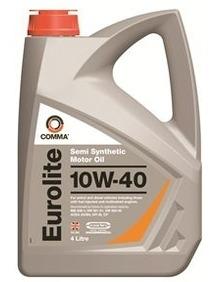 Моторное масло COMMA 10W40 EUROLITE, 4л, EUL4L