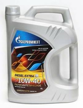 Моторное масло Gazpromneft Diesel Extra 10W-40 5л, GAZPROMNEFT, 2389901352