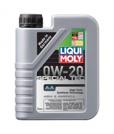 8065 LiquiMoly НС-синт.мот.масло Special Tec AA 0W-20 SN;ILSAC GF-5 (1л) LIQUI MOLY