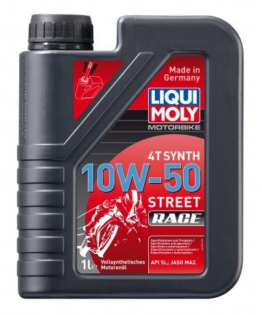 Масло моторное LIQUI MOLY Racing Synth 4T 10W-50 1л